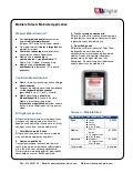 B!Digital - Factsheet Mobiele Site & Applicaties - 2010