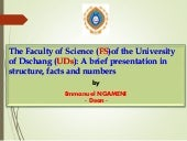 Faculty science ngameni
