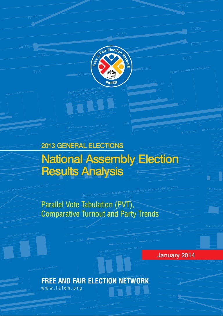 Analysis of 2013 FATA General Election Results (FAFEN report