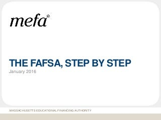 FAFSA Step-by-Step Slideshare