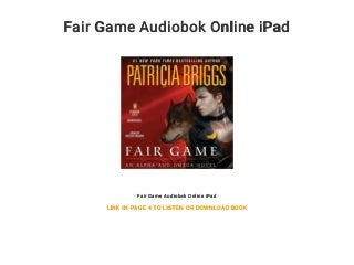 Fair Game Audiobok Online iPad