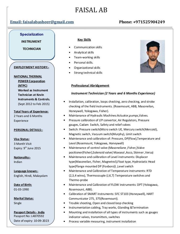 Faisal resume (1)