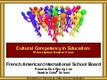 FAIS Cultural Competency Leadership