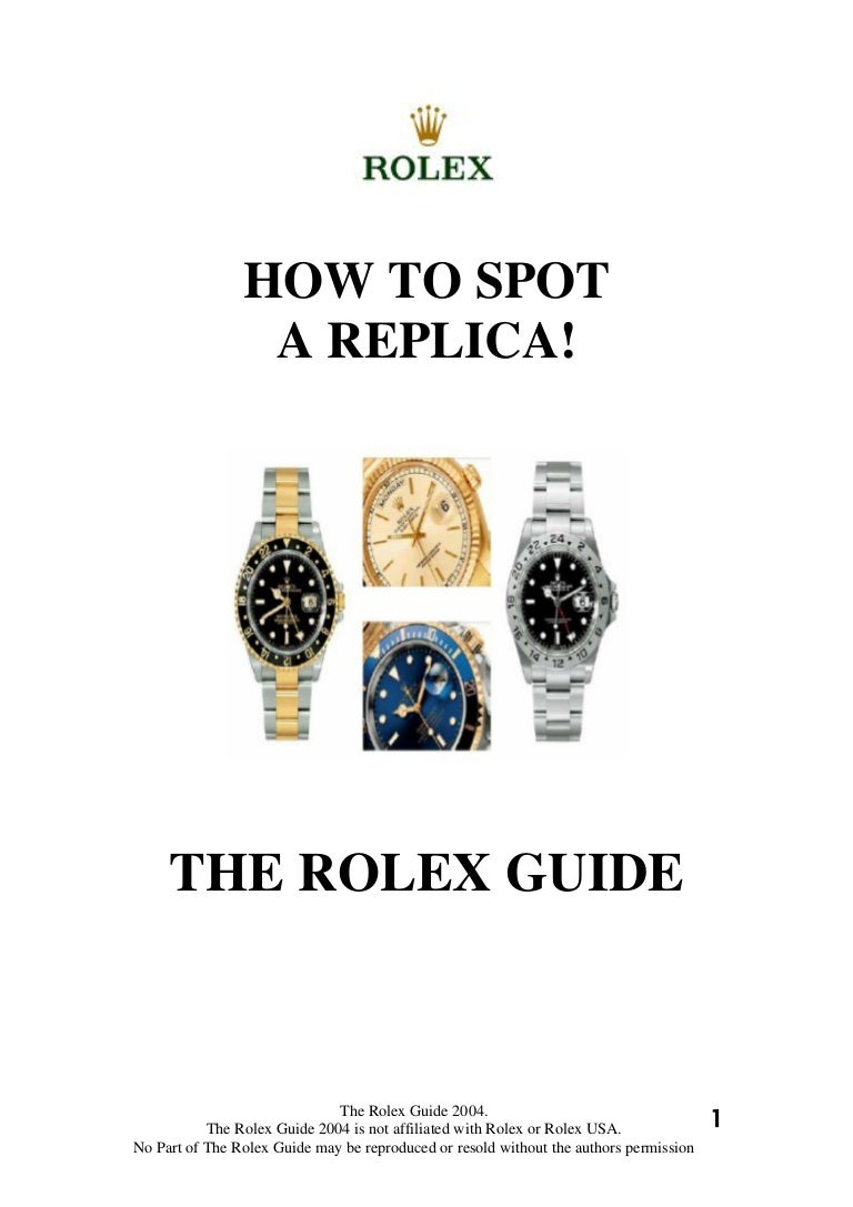 Rolex science the fake signs 3 biocorpaavc Choice Image