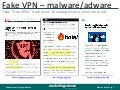 Fake vp ns for malware botnets and adware