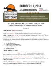 Fall bootcampagendafinal