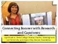 Connecting Bonner with Research and Capstones