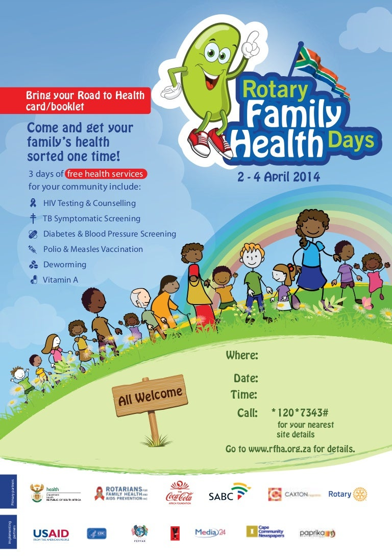 family health day flyer