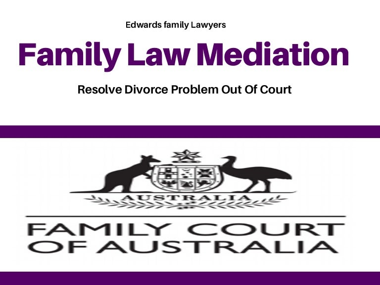 Resolve divorce