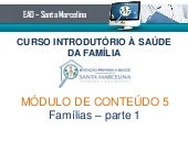 Famílias - parte 1 - visualização