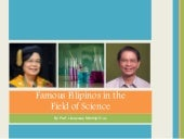 Famous filipinos in the field of science