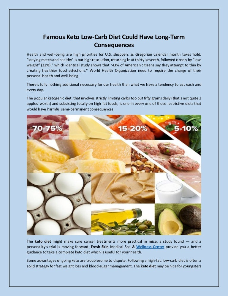famous low carb high fat diets