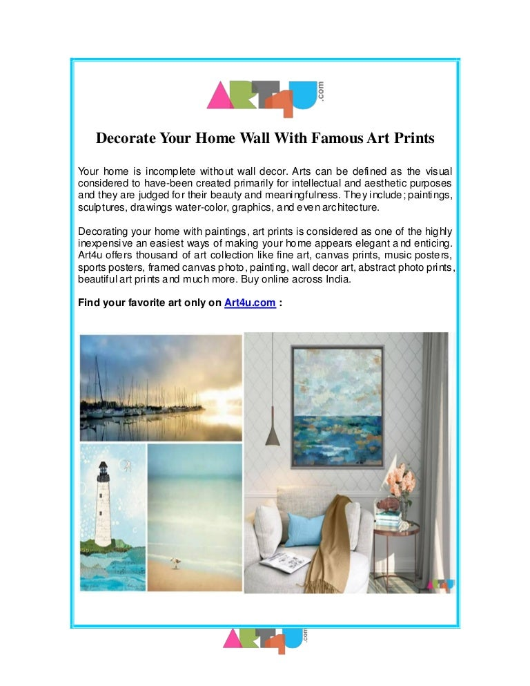 Picture and prints for home