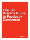 Fan brands guide to Facebook commerce