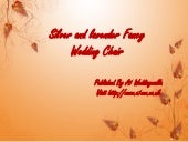 Fancy Wedding Chairs For Hire - Designer Wedding Chairs | A1 Weddingwalla