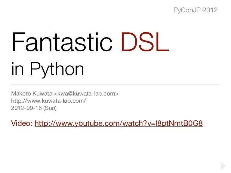 python dsl