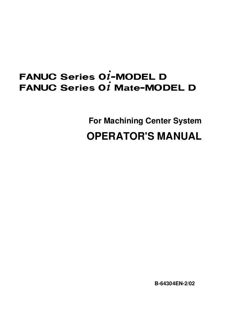 fanuc 0i operator s manual rh slideshare net Syemble Fanuc Control fanuc 0i-md programming manual