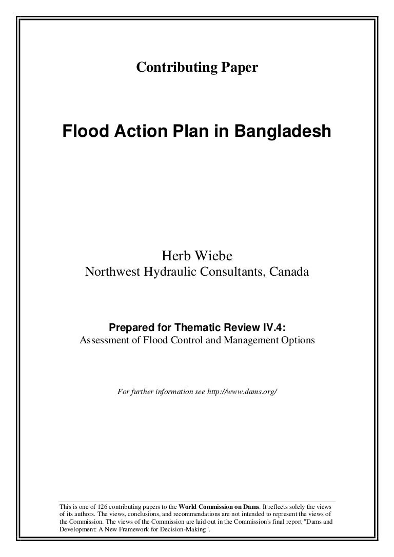 flood action plan