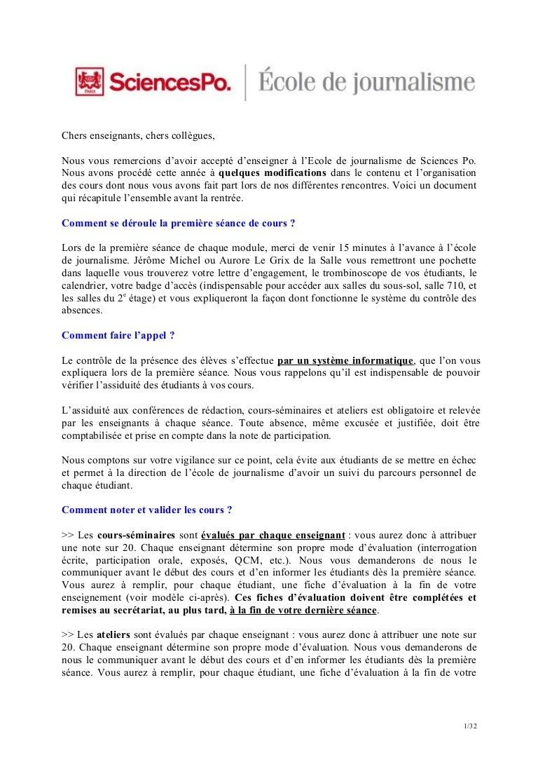 Epub Lettre De Motivation Ecole De Journalisme