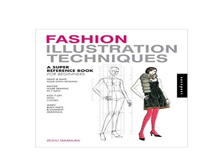Paperback Library Fashion Illustration Techniques A Super Reference