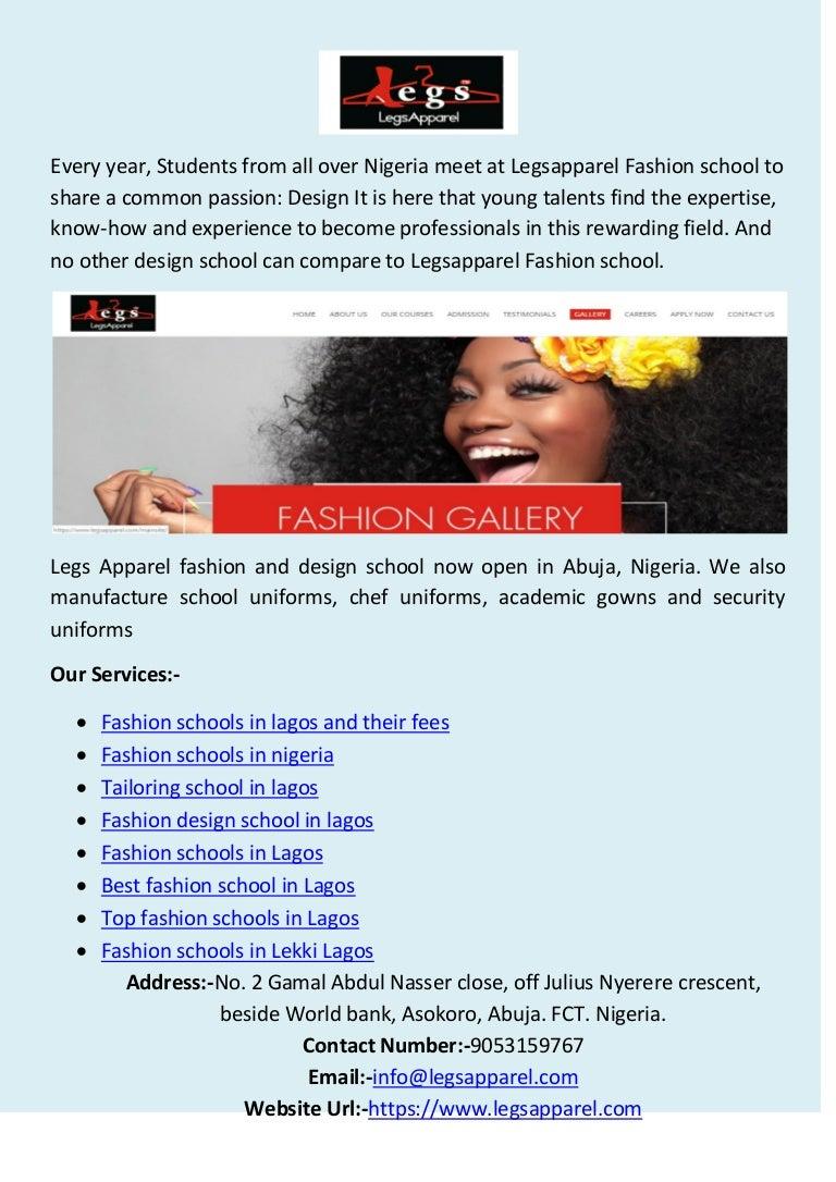 Fashion Schools In Nigeria