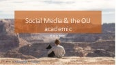 Social media and the academic (with dogs)