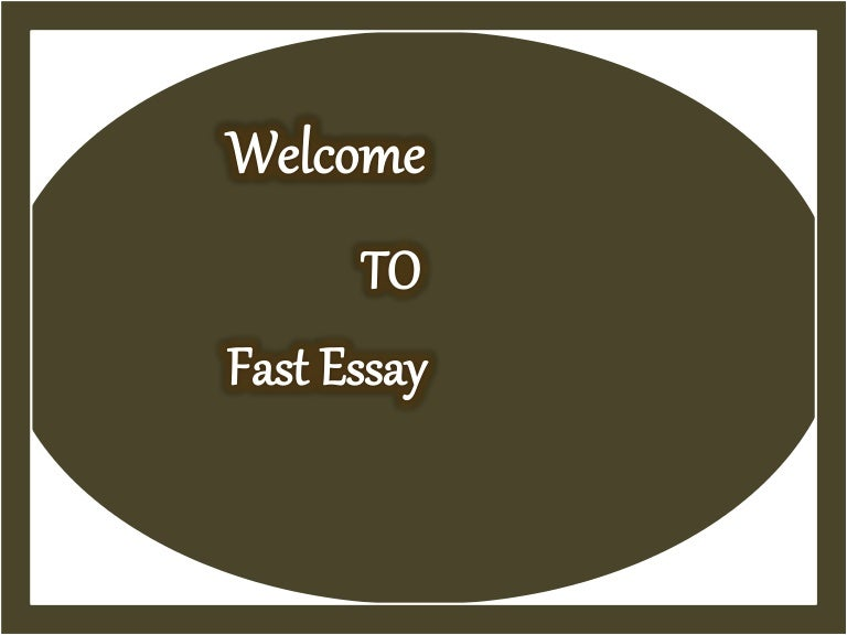 How to Write an Essay Fast by Essay Writing Services-MyAssignmethelp