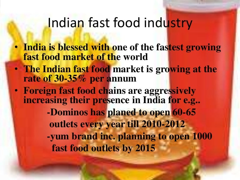 globalization of fast food industry
