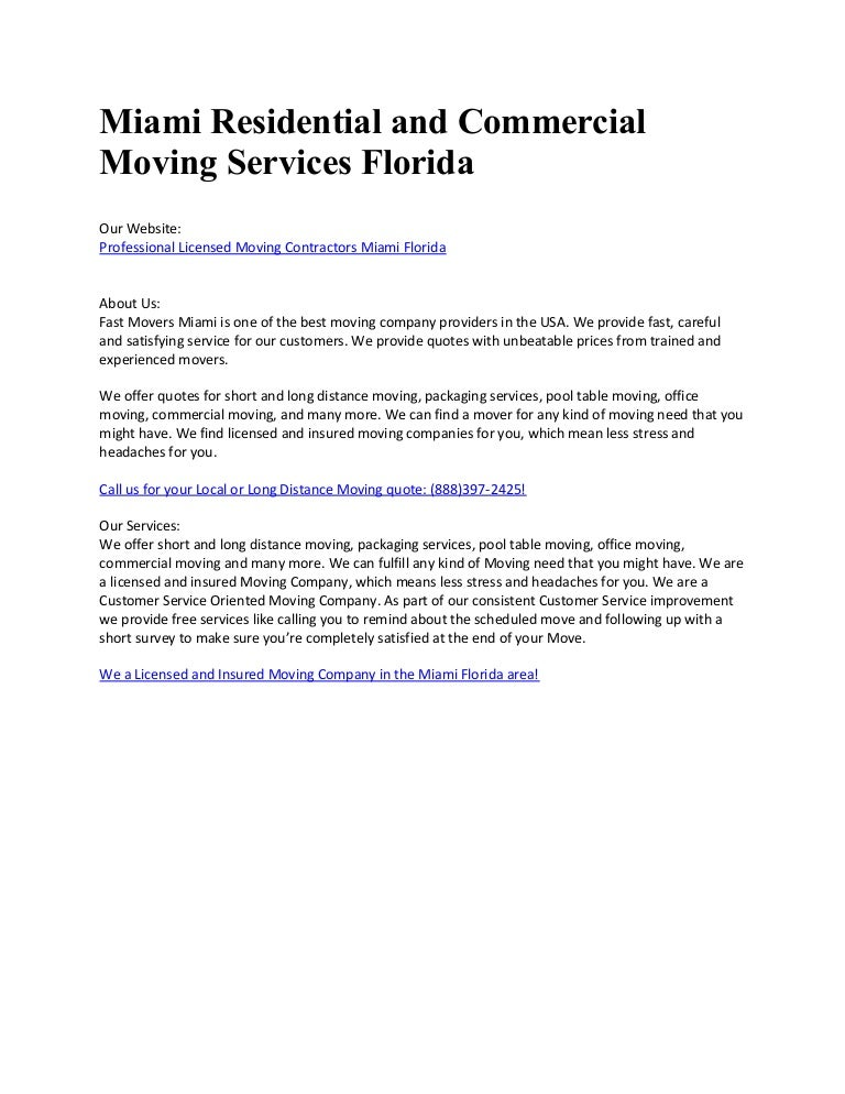 Fast Movers Miami - Pool table movers miami