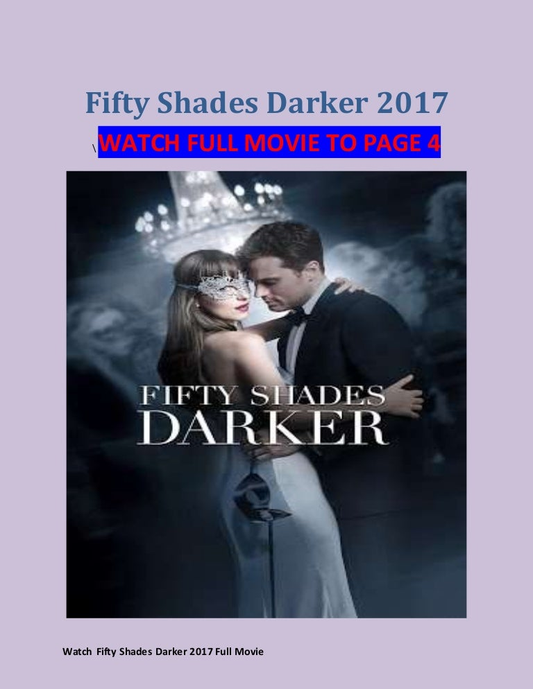 Stream Fifty Shades Darker