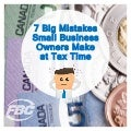 FBC 20-page [eBook] 7 big mistakes small business owners make at tax time via @FBCSmallBizTax