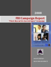 FBI HR Marketing Campaign Report