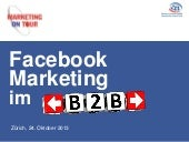 Facebook Marketing für B2B