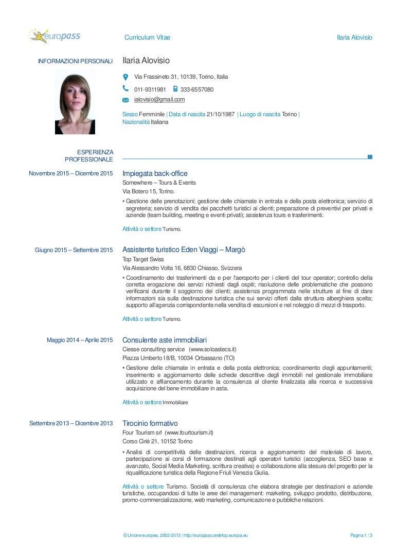 CV Ilaria Alovisio