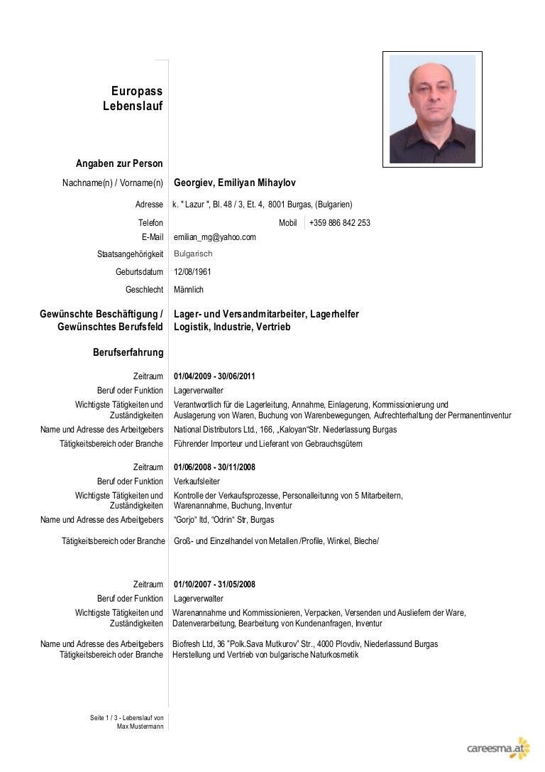 Atemberaubend Verkaufsleiter Profil Lebenslauf Ideen - Entry Level ...