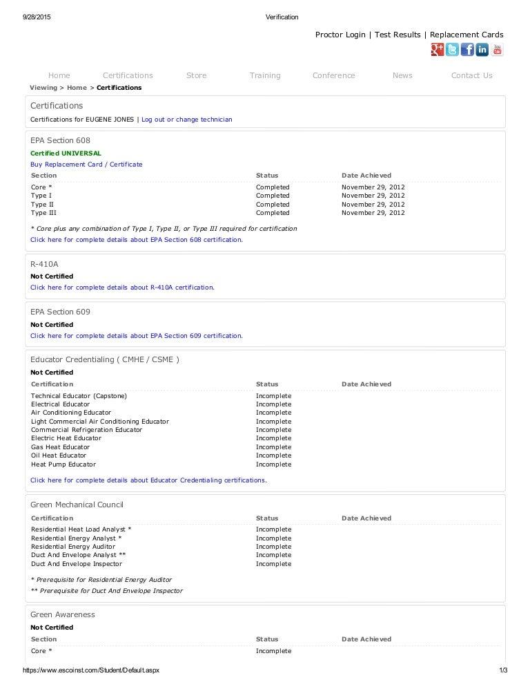 Epa 608 Universal Certification Online Practice Test