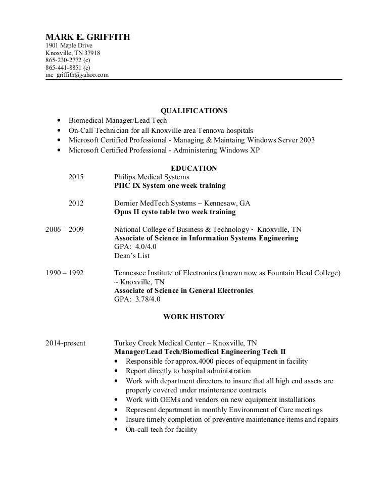Mark's Biomed ETCH resume 1