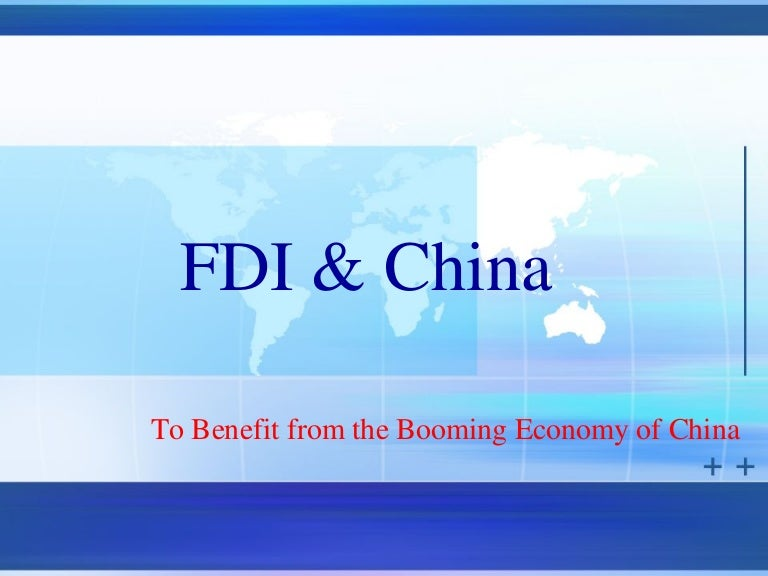 benefits of foreign direct investment Yes first understand that there are two major types of foreign investments fdi ie foreign direct investment and fii ie foreign institutional investment fiis invest in stock markets and hence increase the prices of different investments these.