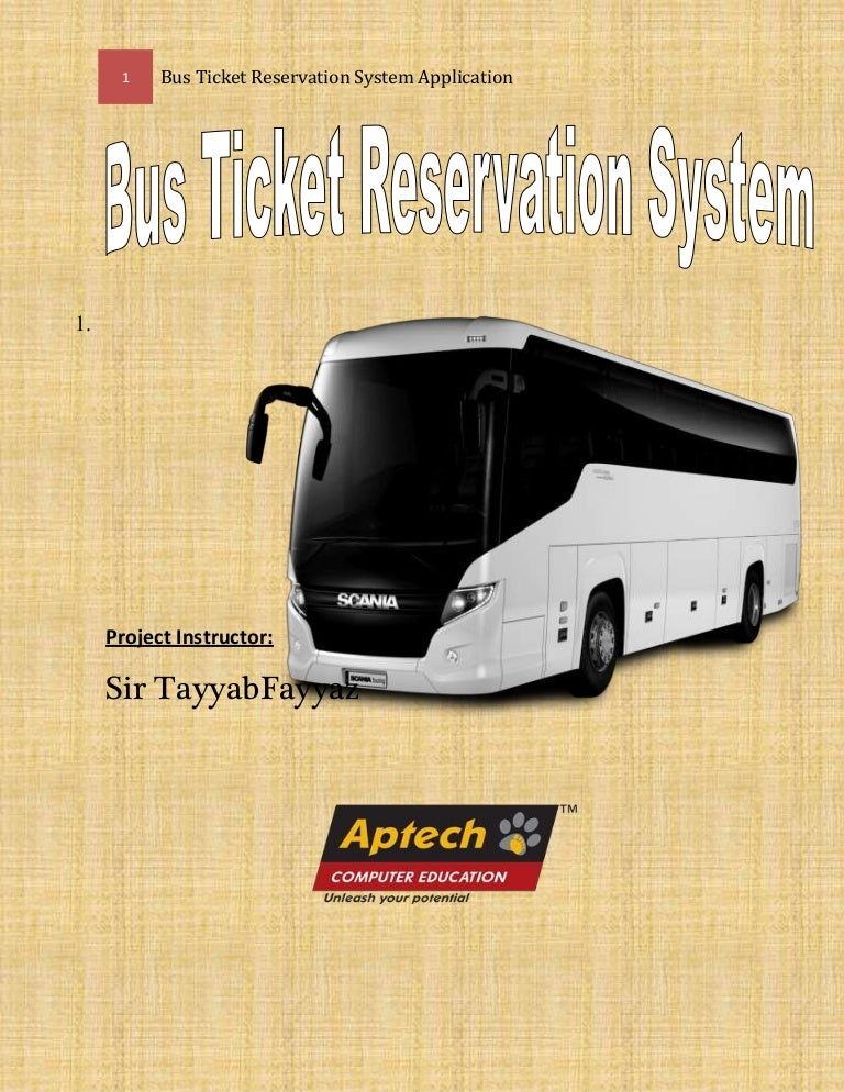 Bus Ticket Management System Documentation