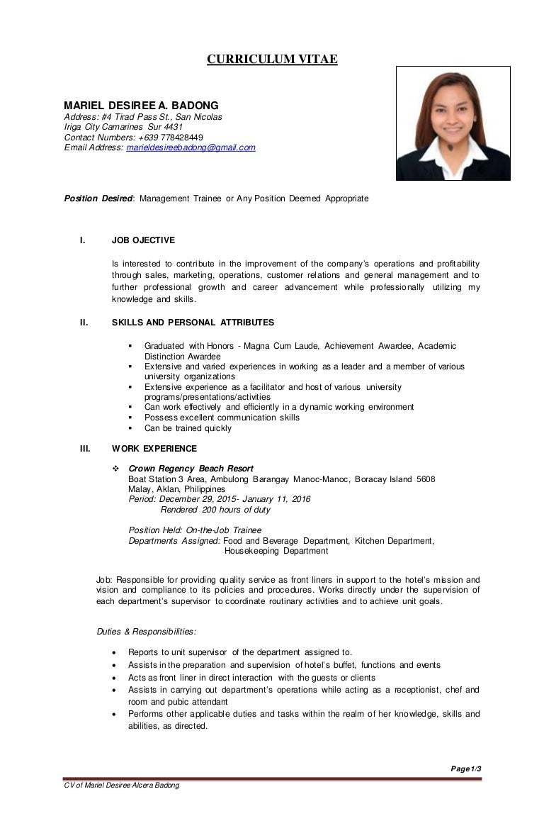 100 personal attributes resume examples 100 resume sample