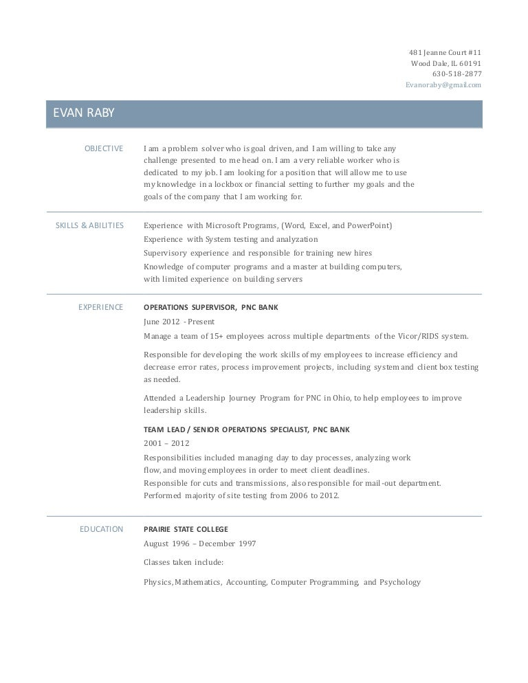 ERaby Resume