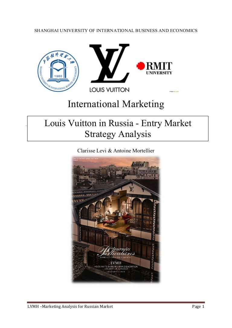 b816ae496dfc3 GO-TO-MARKET STRATEGY : Louis Vuitton in Russia