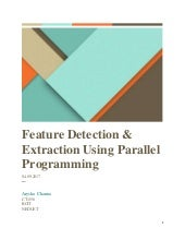 Feature detection & extraction