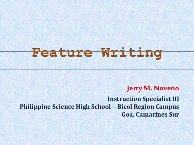 science writing
