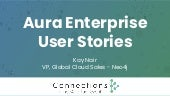 Aura Enterprise User Stories and an Exploration of Real-World Aura Applications