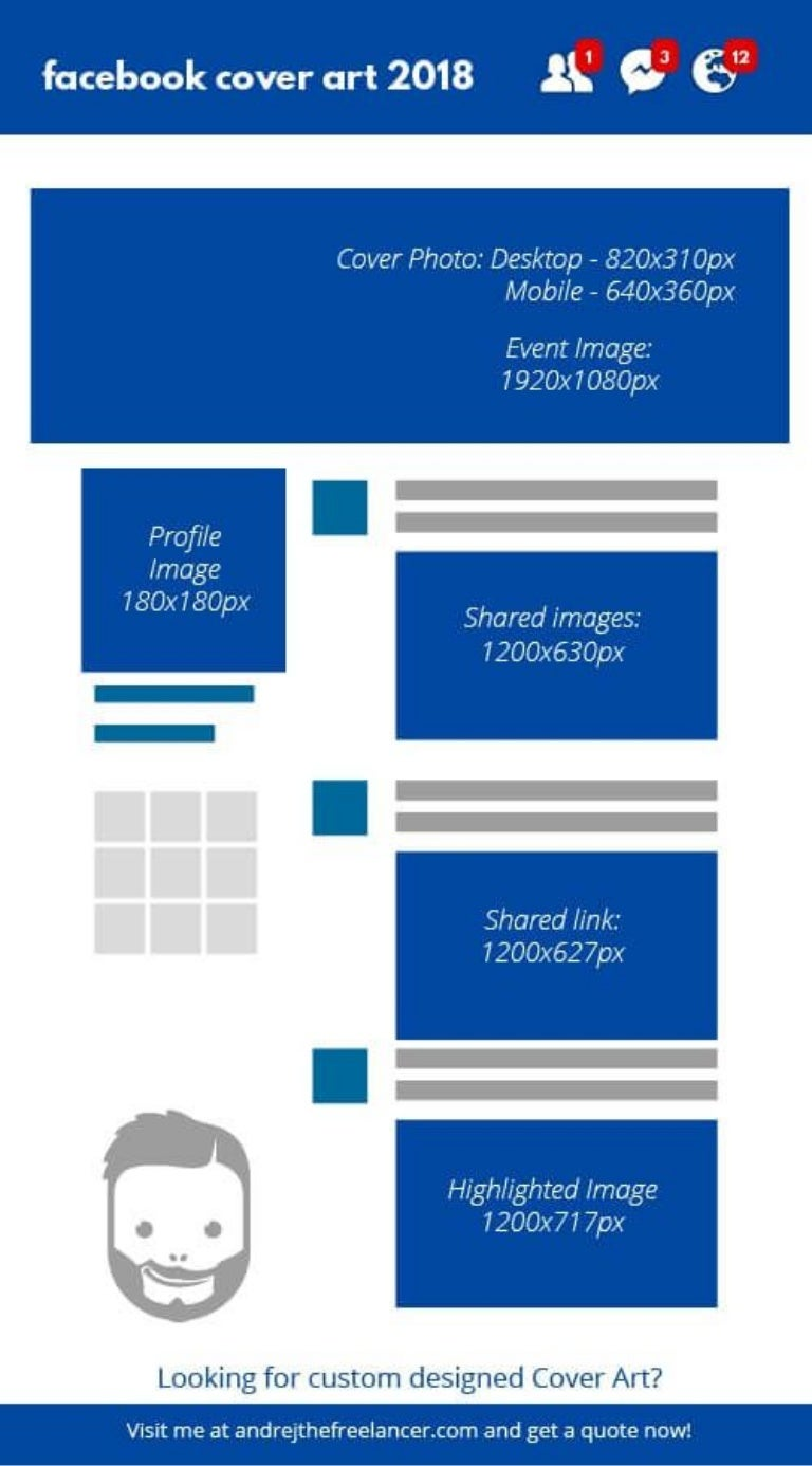 facebook cover page size - 500×902