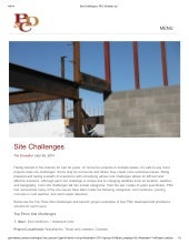 Site Challenges _ PDC Midwest, Inc