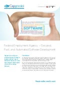 Federal Employment Agency - Secured, Fast, and Automated Software Development