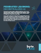 Federated Learning whitepaper from Lenovo & byteLAKE
