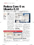 Fedora Core 6 Vs Ubuntu 6.10